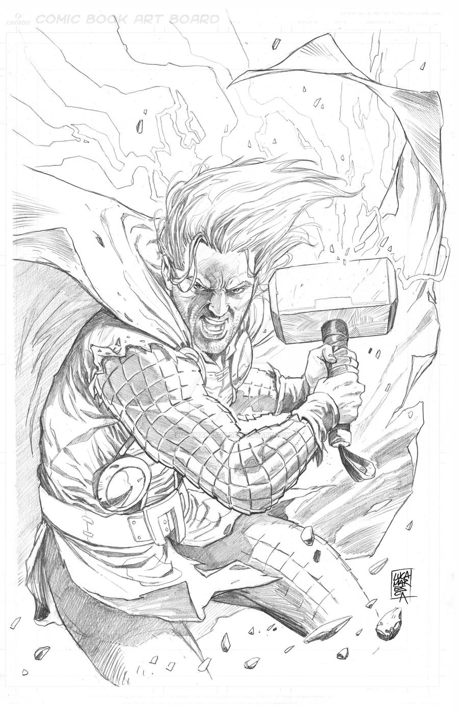 Thor - commission