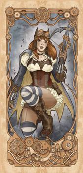 Batgirl Steampunk nouveau