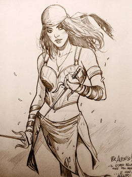 Elektra - sketch