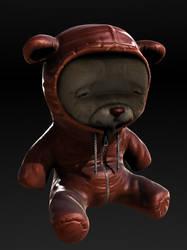 Bear with Bear hoodie