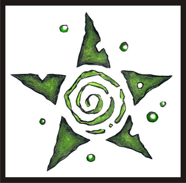Swirling Star Tattoo Designs