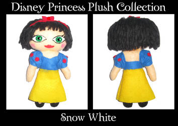 Snow White Plush by melancholy-spiders