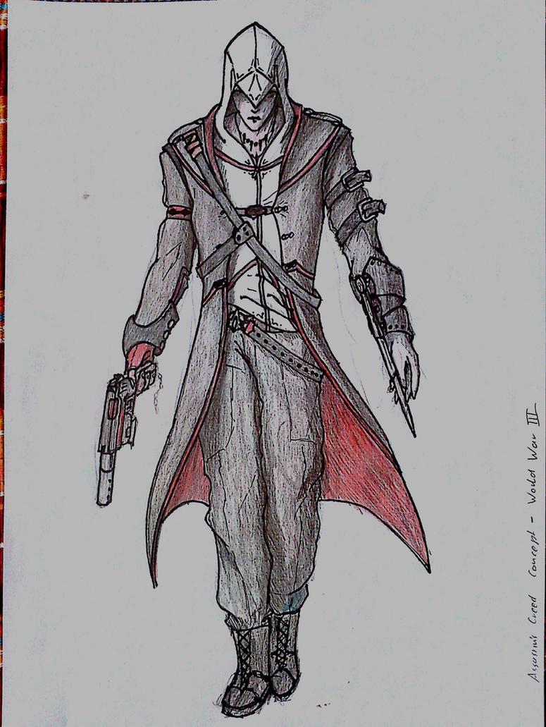 Desmond Modern Assassin by Spoiler42 on DeviantArt