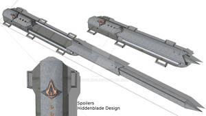 3D Hiddenblade Design
