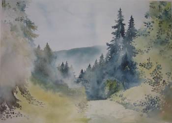 Polish Mountains by ewadzik