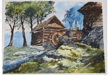 Watermill by ewadzik