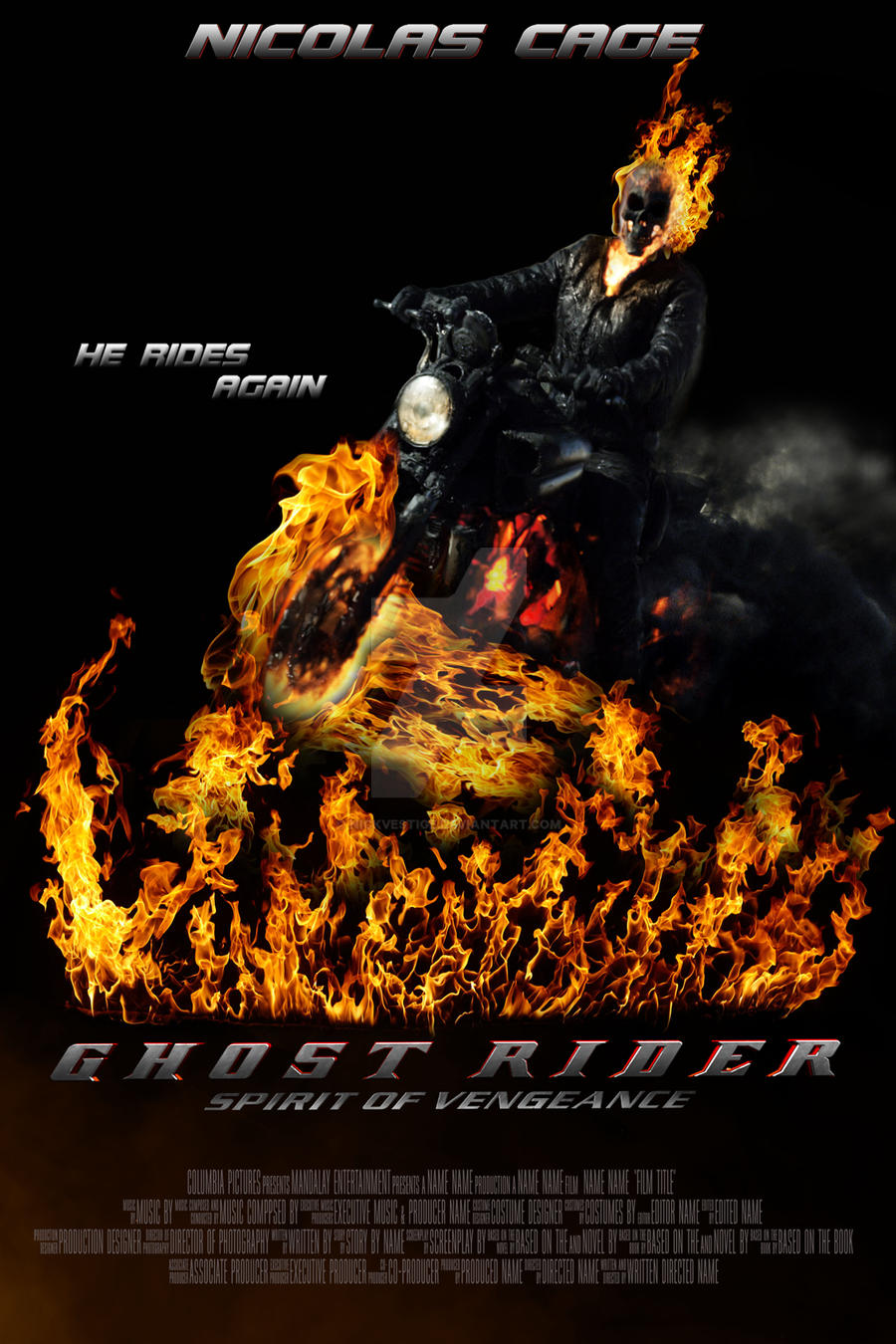 Group of Ghost Rider 2 Spirit
