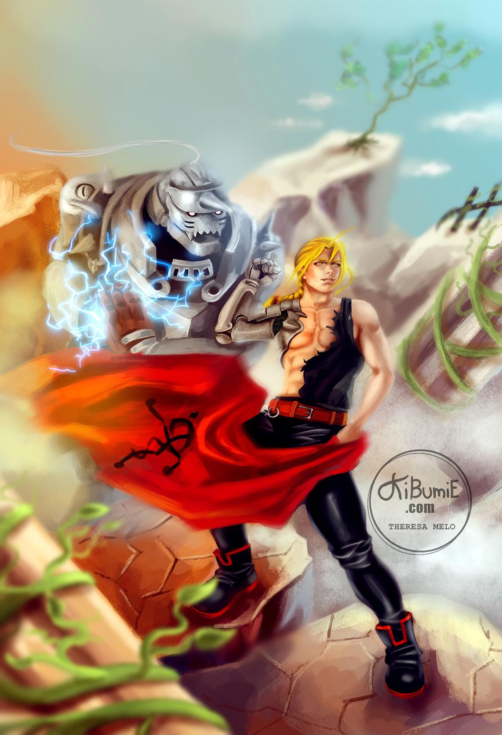 Fullmetal Alchemist by kibumie-art