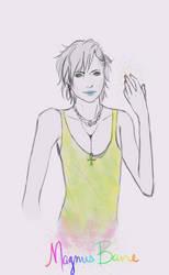 Magnus Bane sketch