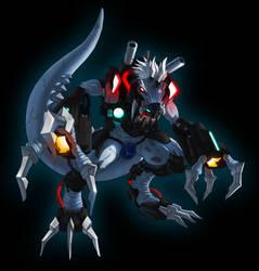 Metal Tyrannomon X by Noki001