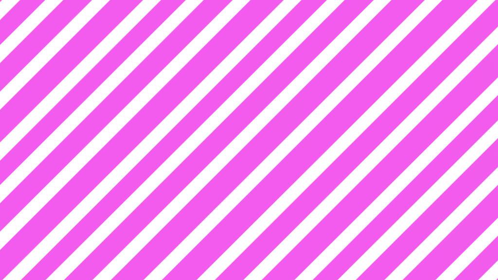 Pink Diagonal Stripes By Ohsnapjenny