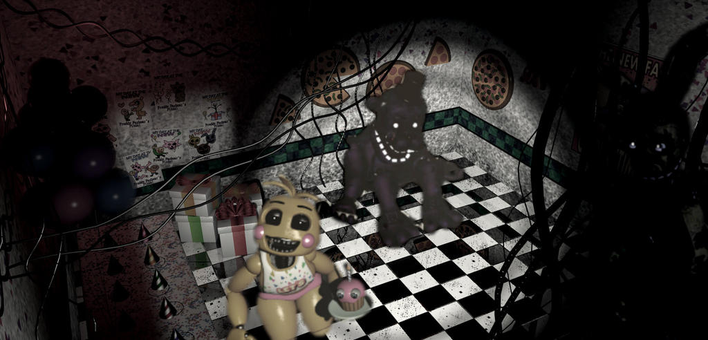 Fnaf 2 edit 3 by goldenbonnie1987 on deviantart