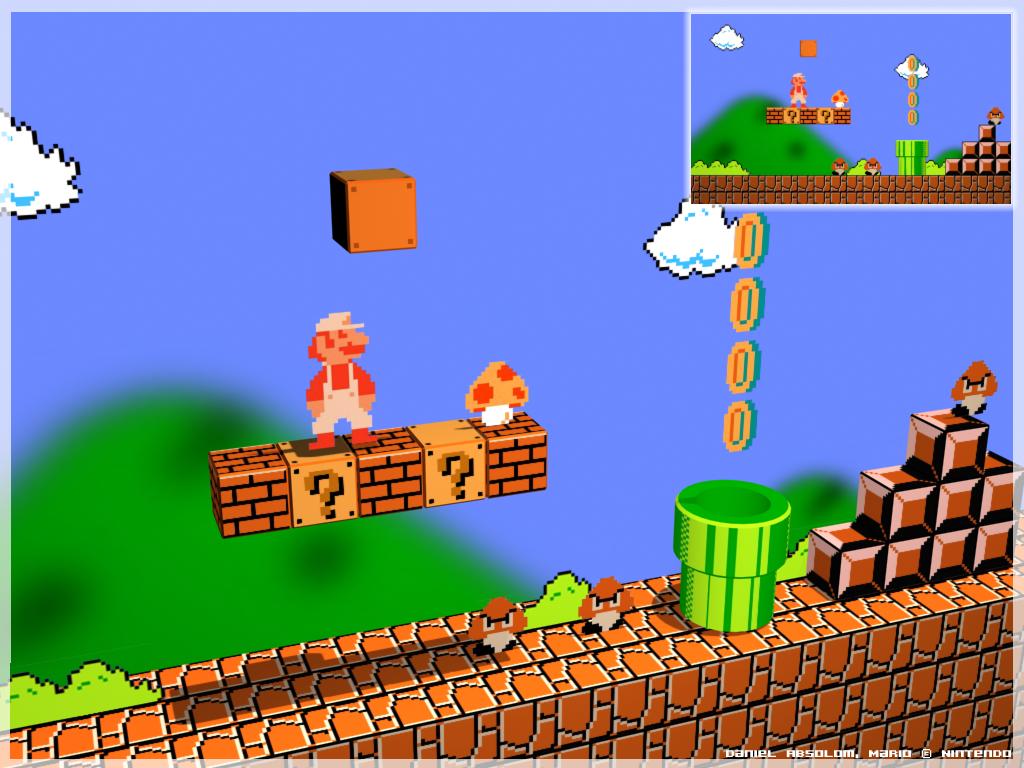 Arte Mario Bros