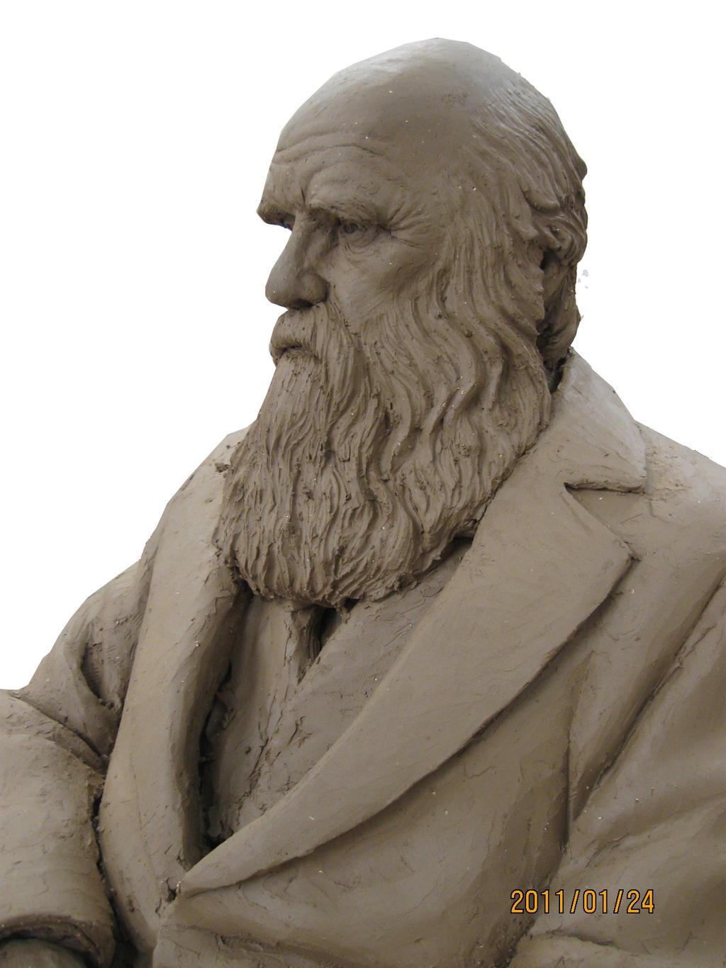 Charles Darwin by YanaAmaru