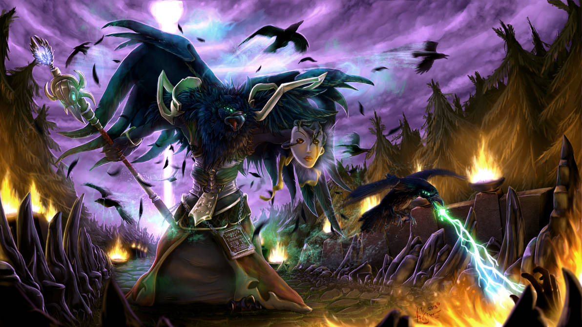 Swain How To Blaze A Trail To Victory By Karukuji On Deviantart