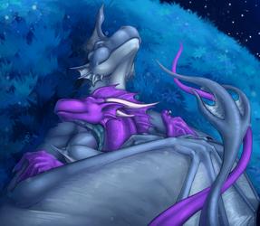 Night time cuddles [GIFT]