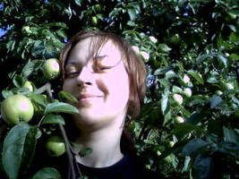 Me and apples
