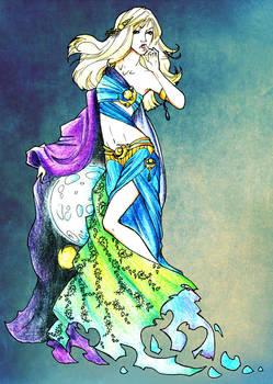 Selena the Moon Goddess