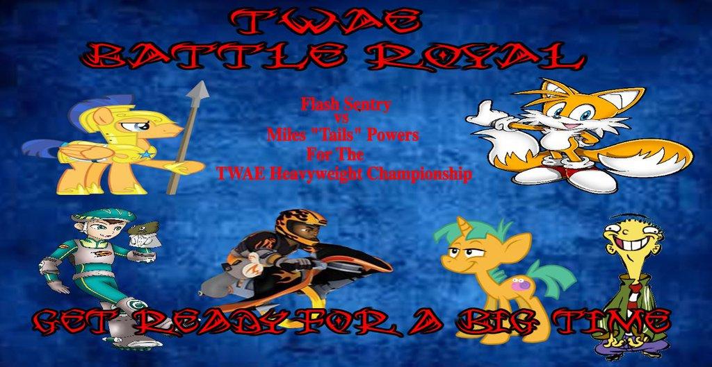TWAE Battle Royal Poster by Dragon222