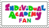 Individual Academy Fan Stamp by Voltz-of-Lightning