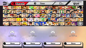 Super Smash Bros. Dream Roster V2.1 by FlaminKitsune