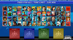 PlayStation Legends: Smackdown roster