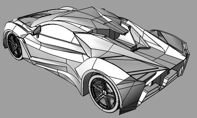 Lamborghini Fenyr by leocampo