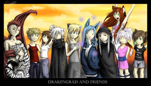 Drakengrad and Friends by Twilight-End