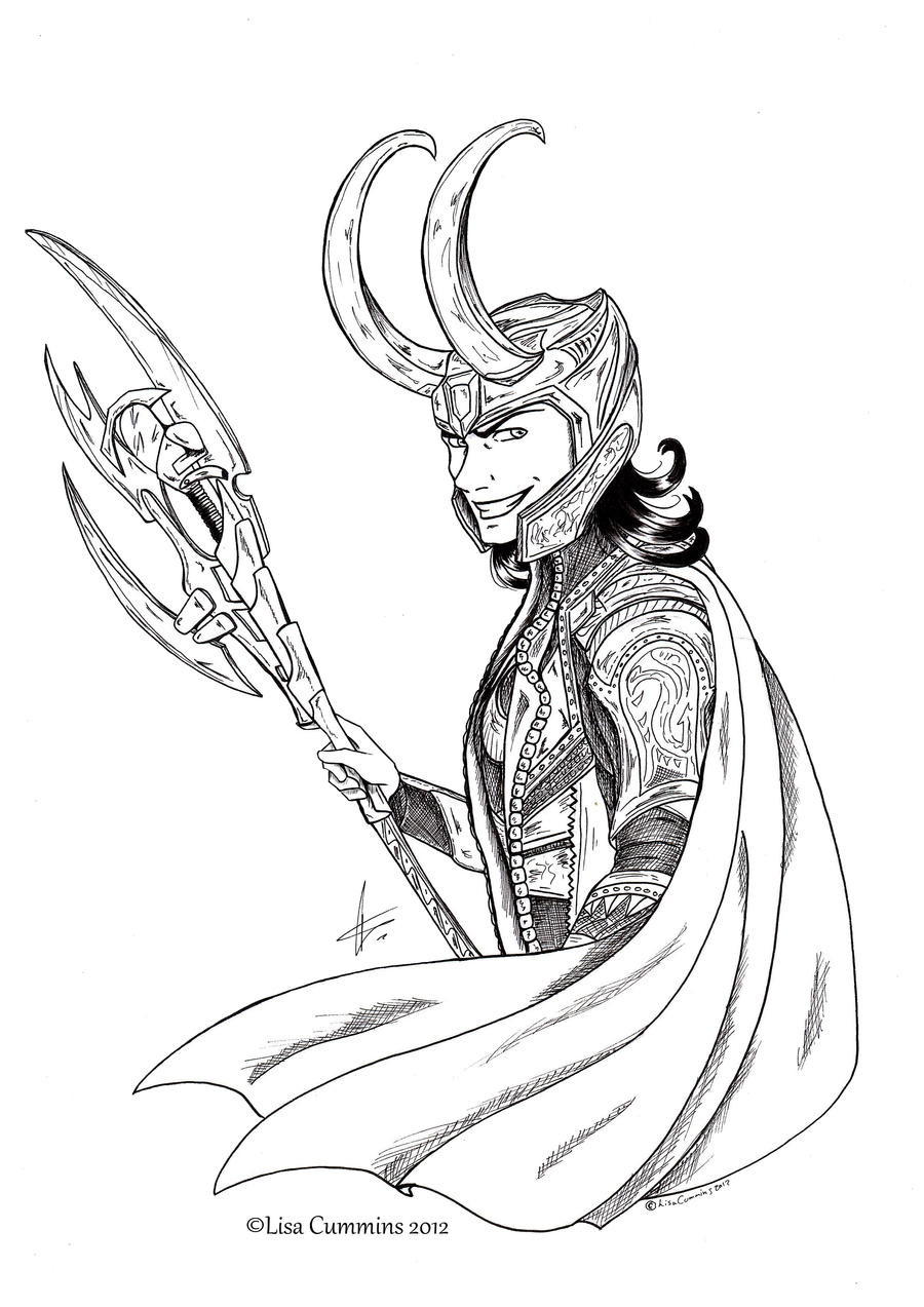 Loki: Dat grin by BaGgY666