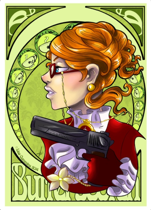 Madam Butterscotch Nouveau by BaGgY666