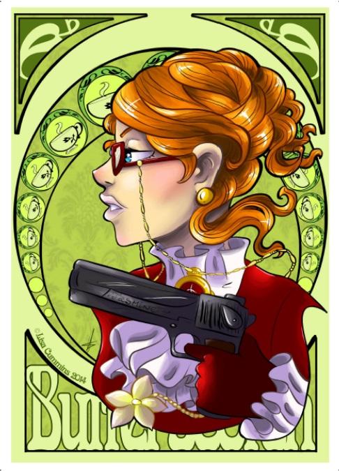 Madam Butterscotch Nouveau by BaGgY666