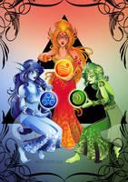 Golden Goddesses Legend of Zelda | 2016 Redraw by BaGgY666