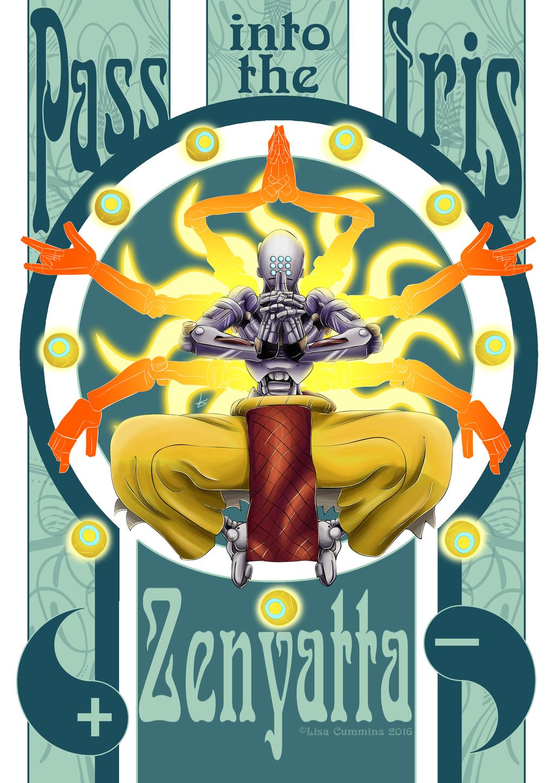 Pass into the Iris | Zenyatta - Overwatch by BaGgY666