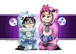 Onesiewatch - Mei + Zarya