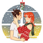 Holiday Spirit | Tracer x Emily | Overwatch