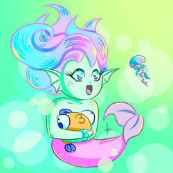 MerMay Doodle - Chibi by BaGgY666