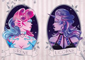 Sirene | Licorne by BaGgY666