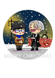 Yuri on Ice Festive Greetings