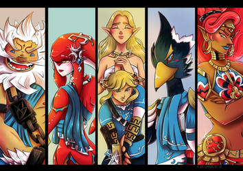 Breath of the Wild Champions by BaGgY666