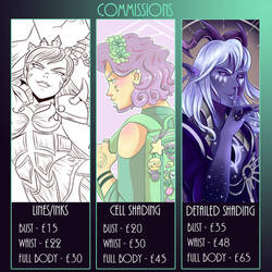 Commissions Info Updated