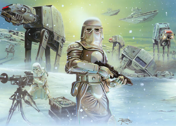 Snow Trooper by BrianRood