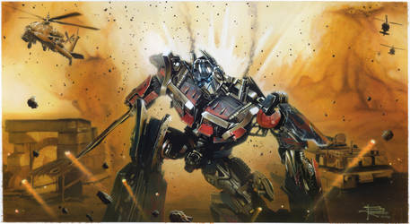 OptimusPrime by BrianRood