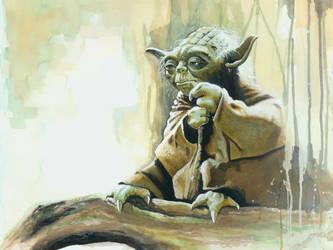 Yoda by BrianRood