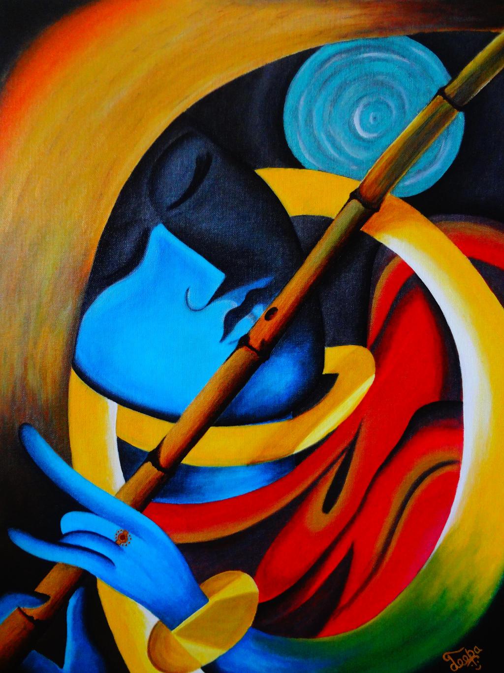 Lord Krishna - Harmony of Life! (Modern Art) by ...