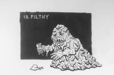 Inktober 2017: 18 Filthy