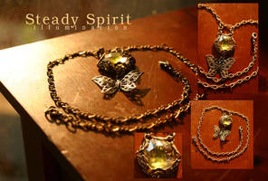 Steady Spirit: Illumination by aunjuli