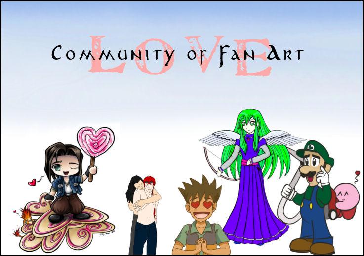 Community of Fan Art Love by aunjuli