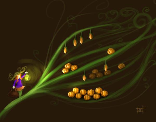 The Pumpkin Harvest by aunjuli
