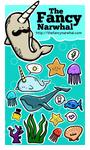 TheFancyNarwhal Sticker Set I by aunjuli
