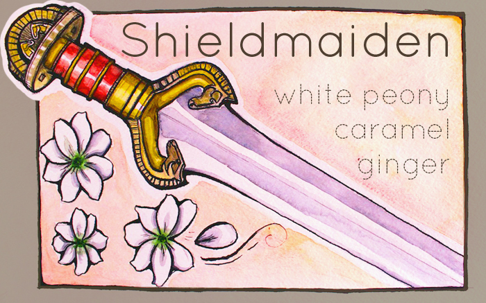 Shieldmaiden Tea Label (Eowyn) by aunjuli